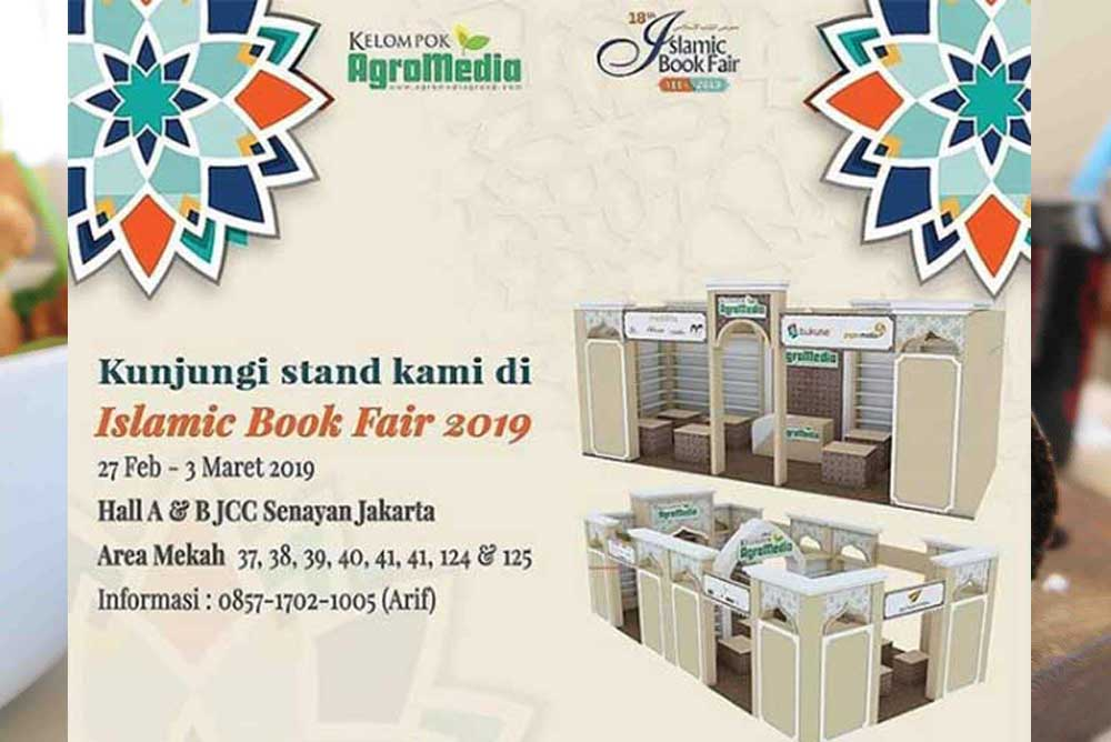 stan agromedia di islamic book fair 2019