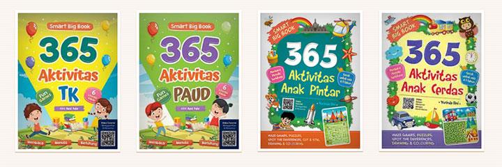 6 Seri Buku Rekomendasi Untuk Aktivitas Anak Belajar Dan Bermain