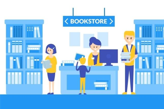 belanja buku bersama anak